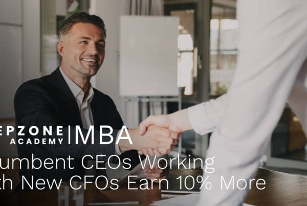 Incumbent CEOs Working With New CFOs Earn 10% More Money